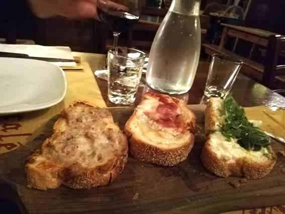 Crostini | Osteria I Tre Scalen di Imola