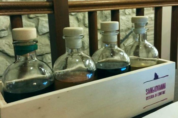 Distillati - L'Osteria di Confine - San Giovanni in Galilea