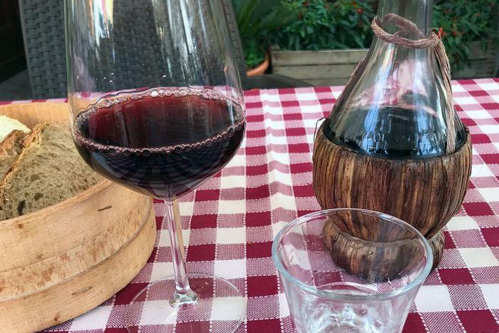 Fiasco di vino - Osteria del Mercato - Forlì