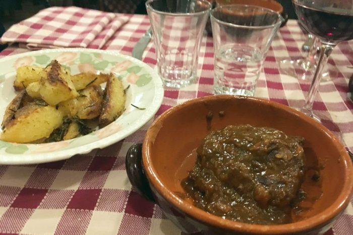 Guancia di vitello brasata - Osteria del Mercato - Forlì