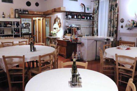 Sala interna - La Chiacchera a Covignano di Rimini