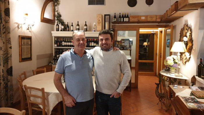 La Chiacchera a Covignano di Rimini - Alessandro Baroni e Alessandro Vetturini