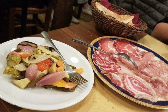 Affettati e giardiniera - Osteria Nascosta - Forlì