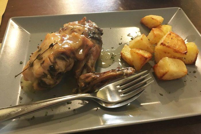 Coniglio arrosto - Osteria Nascosta - Forlì