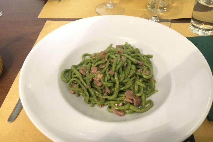 Tagliolini verdi al ragù bianco d'anatra - Osteria Nascosta - Forlì
