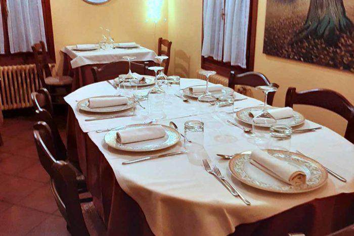 Sala | Ristorante Il Boschetto di Ravenna