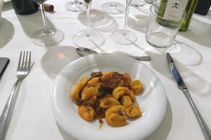 Gnocchetti di patate Hotel Ristorante La Rocca di Brisighella