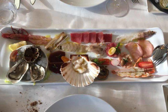 Il gran crudo San Demetrio San Demetrio Restaurant di Cesena