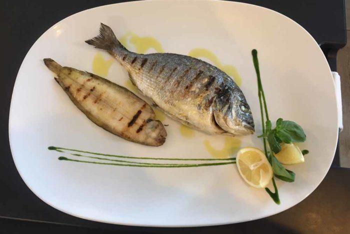 Grigliata con pesce fresco San Demetrio Restaurant di Cesena