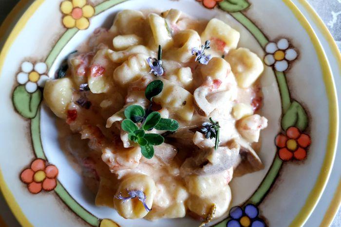 Gnocchi di patate mare e monti - Silver Succi - Quartopiano