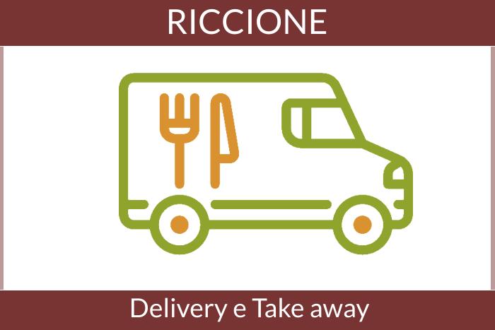 Consegna a domicilio e asporto di cibo e bevande - Riccione