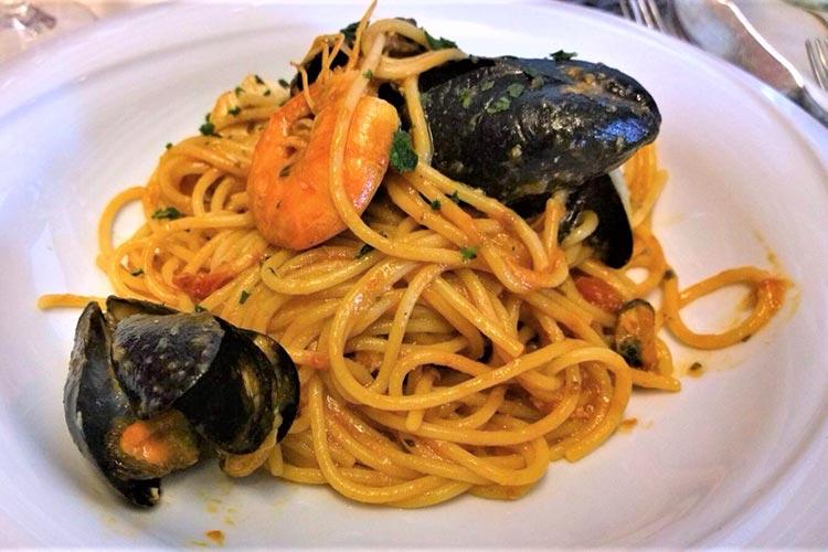 Spaghetti allo Scoglio del Ristorante Kolibrì