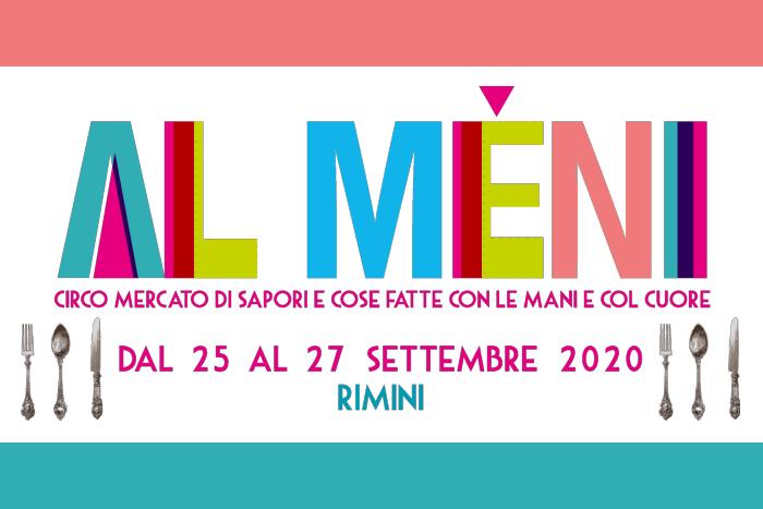Al Mèni - Rimini 25 - 27 settembre 2020