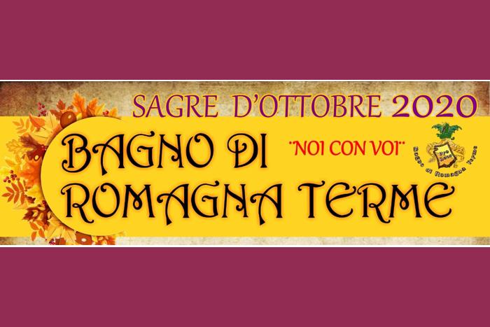 Sagre di ottobre 2020 - Bagno di Romagna