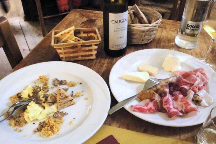 Osteria La Baita Faenza Antipasto