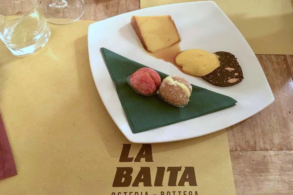 Osteria La Baita Faenza Dolci