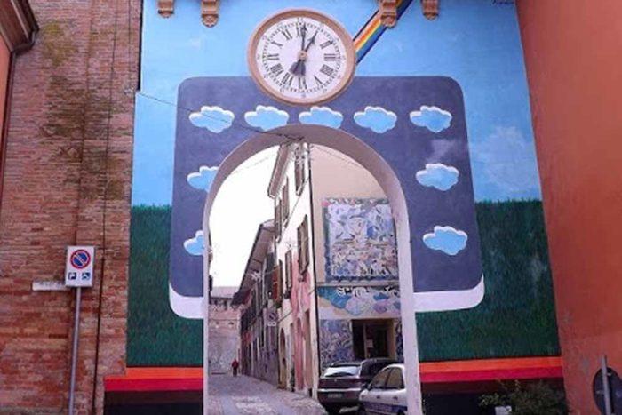 Ristorante La Scuderia a Dozza Imolese Murales
