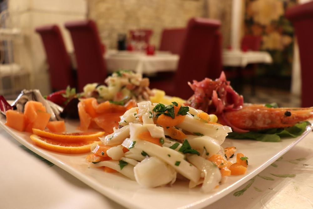 Piatto di Quaresima - Baccalà con polenta