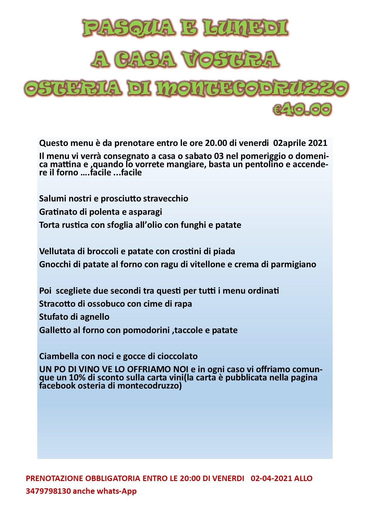Osteria di Montecodruzzo - Gualdo di Roncofreddo