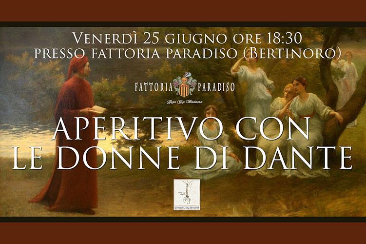 Aperitivo con le Donne di Dante a Bertinoro