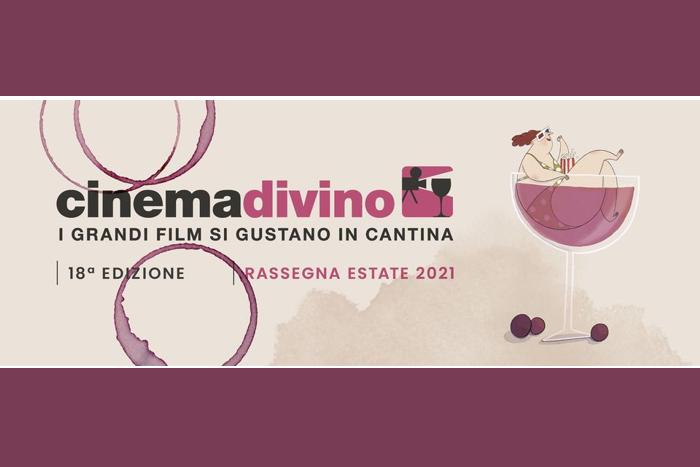 Cinemadivino 2021 -I grandi film si gustano in cantina