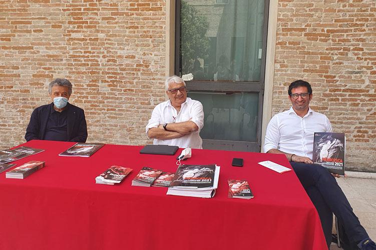 Francesca 2021 incontro con Piscaglia, Farina e Gasperi