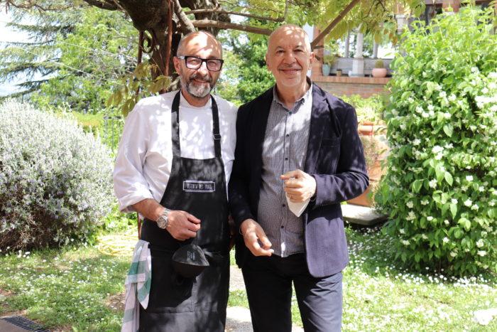 Giorgio Clementi e Massimo Marcocchi