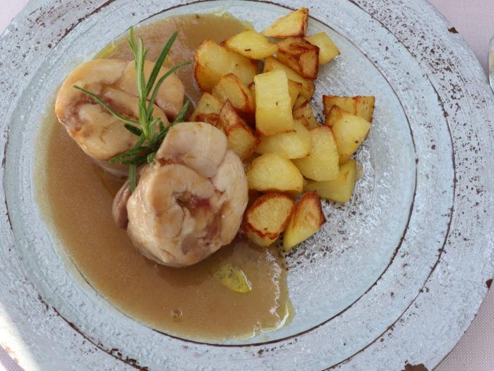 Coniglio in porchetta con patate al forno - La Trattoria di Ravenna