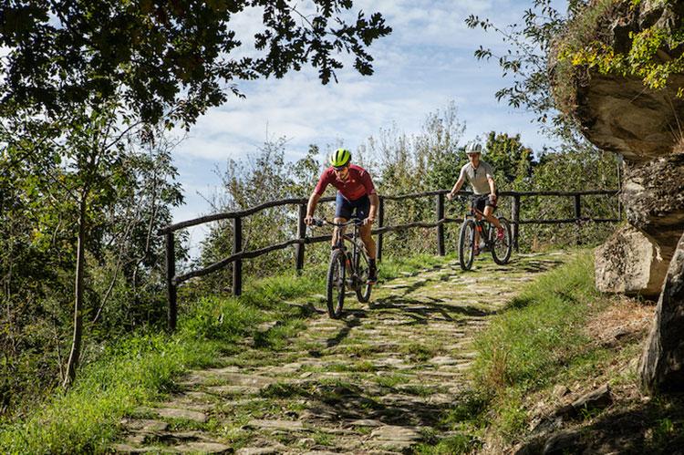 Via Romagna percorso ciclabile