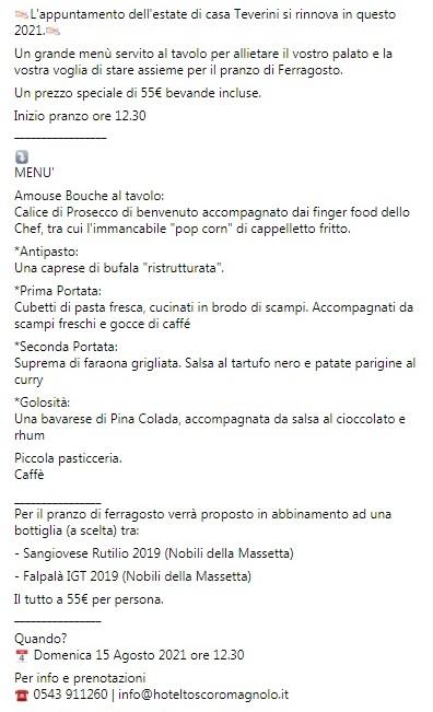 Il Buffet della domenica da Paolo Teverini   Romagna a Tavola News