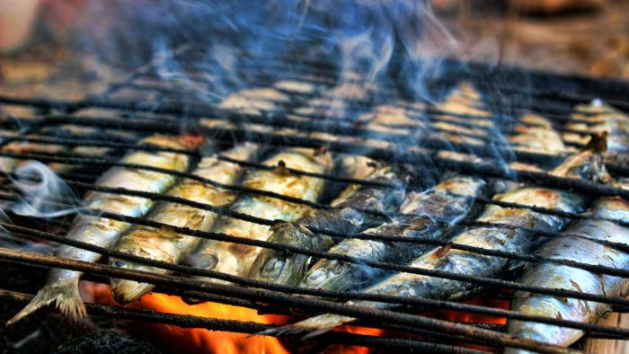 Pesce dell'Adriatico alla griglia