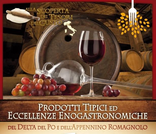 Prodotti Tipici ed eccellenze gastronomiche del delta del po e dell'appennino romagnolo