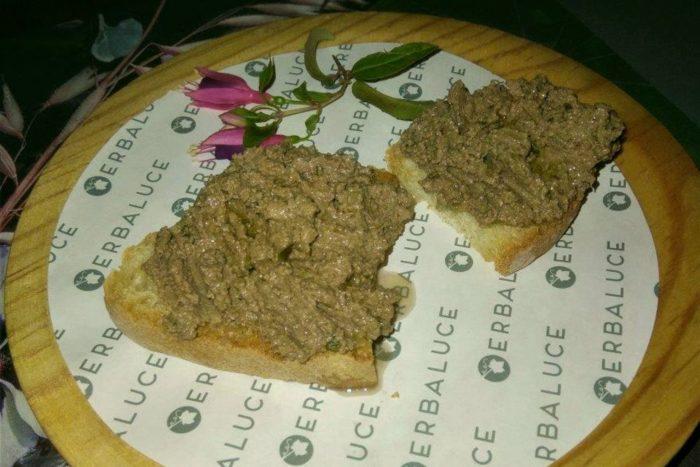 Osteria Erbaluce - Crostino al paté di fegatini