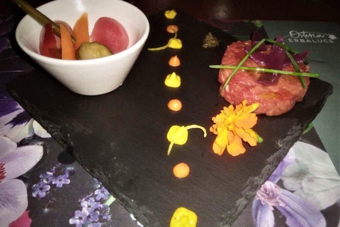Osteria Erbaluce - Tartare di Manzo